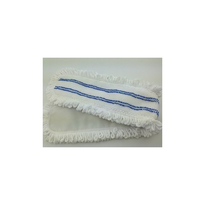 Blue And White Striped Flat Mop Head